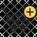 Cart Add Increase Icon