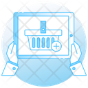 Add To Cart Shopping Bucket Shopping Hamper Icon