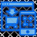 Website Cart Shopping Icon