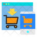 Cart Website Mobile Icon