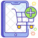 Add To Cart Online Shopping Ecommerce Icon