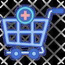 Add To Cart Add Trolley Icon