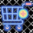 Add To Cart Add Cart Add Trolley Icon
