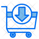 Cart Shopping Download Icon