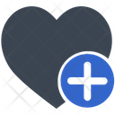Add Favorite Heart Icon