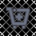 Add Trolley Icon