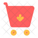 Add Trolley Shopping Trolley Add Cart Icon