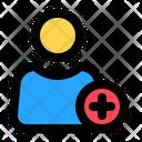 Add User Add Friend Add Profile Icon