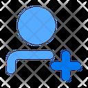 Add User Create Icon