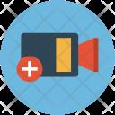 Add Video Plus Icon
