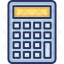 Adding Machine Calc Calculate Icon