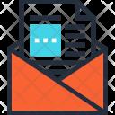 Address Communication Email Icon