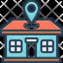 Address Location Home Icon