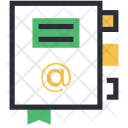 Address Book Bookmark Icon