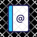 Address Book Address Book Icon