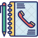 Address Book Calls Contact Icon