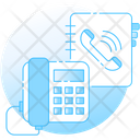 Contact Book Phone Directory Phone Book Icon