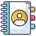 Contacts Book Phone Directory Address Book Icon