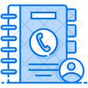 Address Book Contacts Book Phone Directory Icon