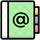 Business Financial Address Icon