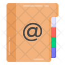 Mail Book Address Book Mail Directory Icon