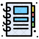 Address Book Communication Contact Book Icon