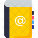 Contact Address Book Mail Icon