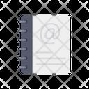 Address Book Diary Notepad Icon