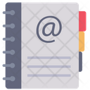 Directory Contact Phone Book Icon