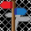 Address pole Icon