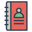 Addressbook Book Contact Icon