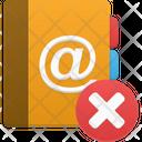 Addressbook Delete Icon