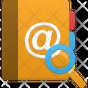Addressbook Search Icon