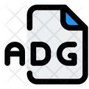Adg File Audio File Audio Format Icon