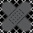 Adhesive Plaster Emergency Icon