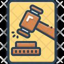 Adjudicate Justice Lawsuits Icon
