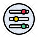 Control Setting Filters Icon