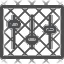 Adjustment Panel Level Adjustment Icon