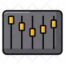 Filter Music Equalizer Parameters Icon
