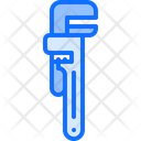 Adjustable Wrench Plumber Icon