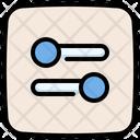 Adjustment Slider Adjust Icon