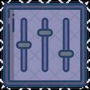 Adjustment Equalizer Mixer Icon