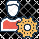 Admin User Person Icon