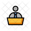 Admin Staff Employee Icon