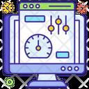 Web Performance Web Dashboard Web Speed Icon