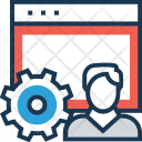 Admin Panel User Icon