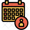 Admin Schedule Icon