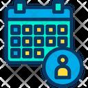 Admin Schedule Icon