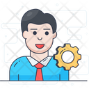 Administrator Resource Planner Manager Icon