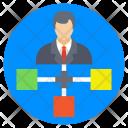 Leadership Team Hierarchy Icon
